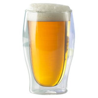 The Wine Enthusiast Steady Temp Beer Glass Set of 2