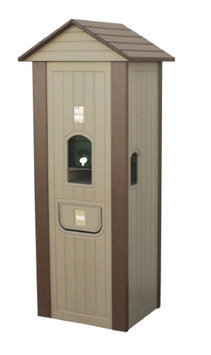 Eagle One Full Length Water Cooler House Finish: White