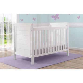 Delta Children Sunnyvale 4-in-1 Convertible Crib, Bianca