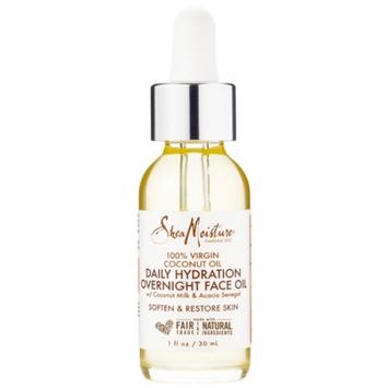 SheaMoisture 100% Virgin Coconut Oil Daily Hydration Overnight Face Oil