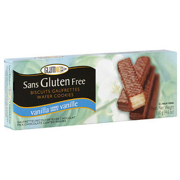 Glutino Milk Chocolate Coated Vanilla Wafer Cookies