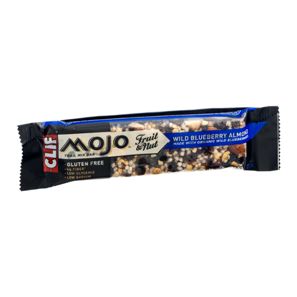 Clif Mojo Fruit & Nut Trail Mix Bar Wild Blueberry Almond