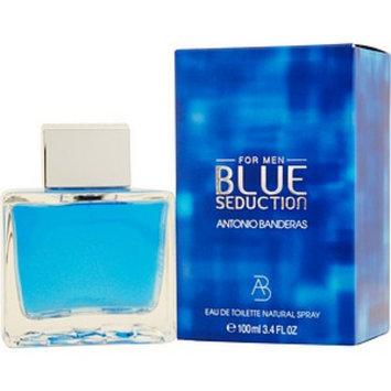 Antonio Banderas Blue Seduction Men's Eau De Toilette Spray