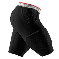 McDavid 7991 Hex Short with Contoured Wrap Around Thigh Black