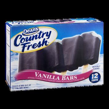 Dean's Country Fresh Vanilla Bars - 12 CT