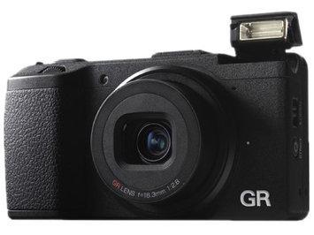 Ricoh GR Pocket-Size Compact Digital Camera, 16.2MP, Full 1080p h.264 HD Video Recording, 3.0
