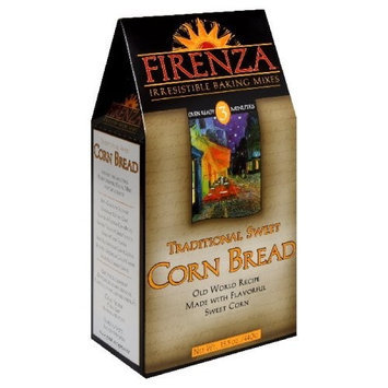 Firenza Traditional Sweet Cornbread Mix, 15.5-Ounce (Pack of 3)