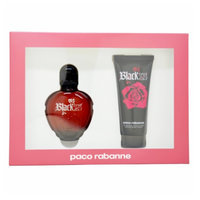 Paco Rabanne Black XS Gift Set for Women, 2 Piece, 1 set