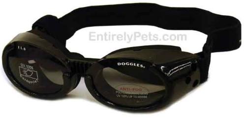Doggles Llc Doggles ILS Black Dog Glasses X-Small
