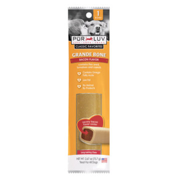 Pur Luv Flavored Bone Dog Treat