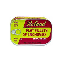 Roland Anchovy Fillets in Olive Oil, 28-Ounce Can