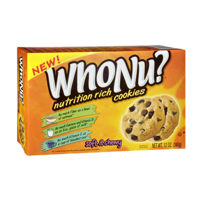 WhoNu? Nutrition Rich Soft & Chewy Chocolate Chip Cookies