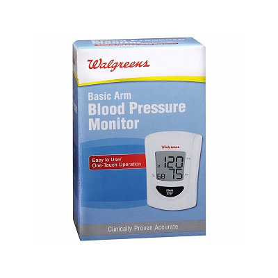 Walgreens Basic Arm Blood Pressure Monitor