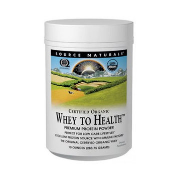 Source Naturals Whey to Health Premium Protein Powder (Organic)