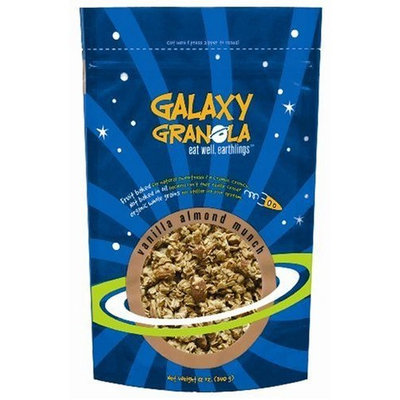 Galaxy Granola Vanilla Almond, 12-Ounce Pouch (Pack of 6)