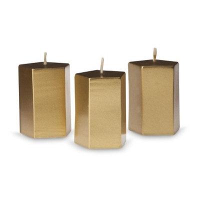 Wit & Delight Pentagon Votive Candles 3ct