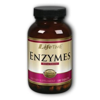 Enzyme Complex Digestive Enzyme Formula LifeTime 180 Tabs