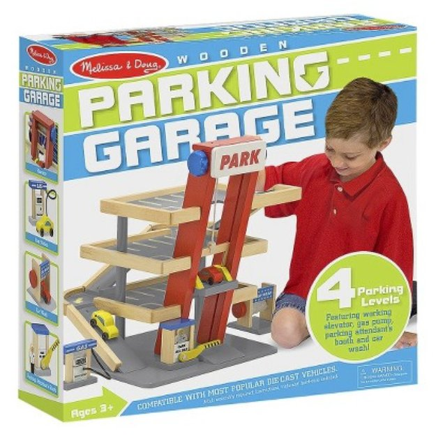 Melissa and Doug Parking Garage