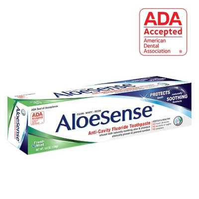 AloeSense Naturally Soothing Fluoride Toothpaste