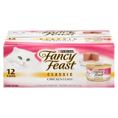 Purina Fancy Feast Fancy Feast Chicken Feast Classic Wet Cat Food - 3 oz (12 pk)