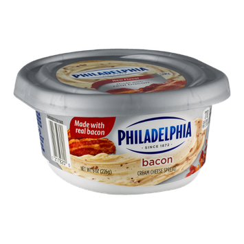 Philadelphia Cream Cheese Spread Bacon