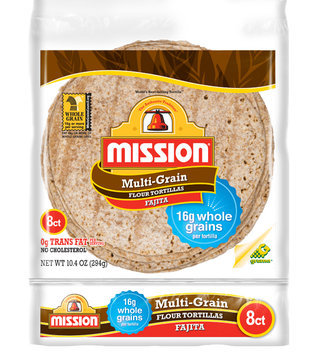 Gruma Mission Multigrain Flour Tortillas
