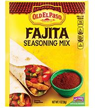 Old El Paso® Fajita Seasoning Mix