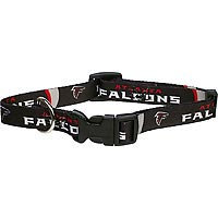 Hunter 305784f2 Atlanta Falcons Dog Collar Nylon Medium