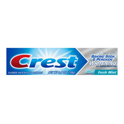 Crest Baking Soda & Peroxide Whitening Toothpaste With Tartar Protection