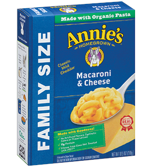 Annie's® Classic Macaroni & Cheese – Family Size