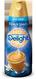 International Delight Fat-Free Coffee Creamer French Vanilla