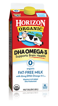 Horizon Fat-Free Milk with DHA Omega-3