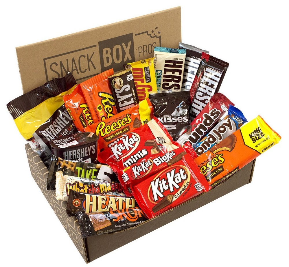 Hershey's Favorites Box Candy Bars