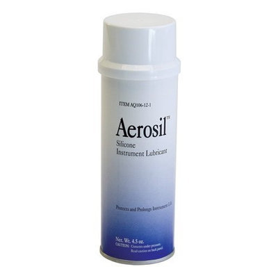 Graham Field Grafco Aerosil Silicone Instrument Lubricant, 4.5 oz. Can, 12/Bx, GHFAQ106-12