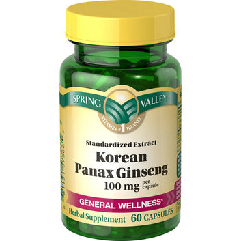Spring Valley : Herbal Supplement Korean Ginseng