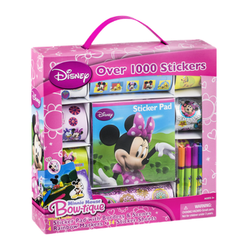 Disney Sticker Box Minnie Mouse Bow-tique