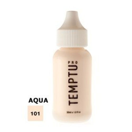 TEMPTU PRO 12 Color Aqua Airbrush Makeup Foundation Set in 1 Ounce Bottles