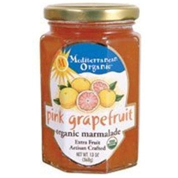 Mediterranean Organic Grapefruit, Red Marmalade, 13-Ounce (Pack of 12)