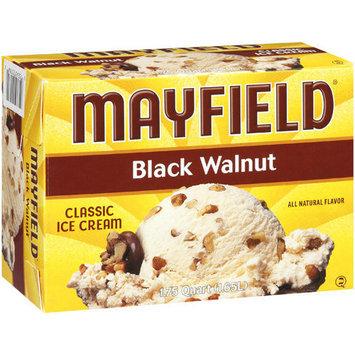 Mayfield Black Walnut Ice Cream, 1.65 l