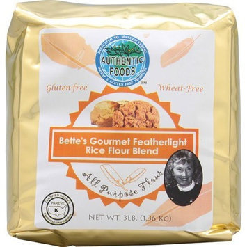 Authentic Foods Bette's Featherlight Rice Flour Blend - 3lb