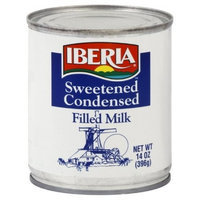 Iberia Condensed Milk, 14-Ounce (Pack of 8)