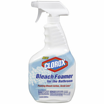 Clorox Bleach Foamer for the Bathroom