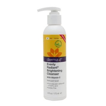 derma e Evenly Radiant Cleanser