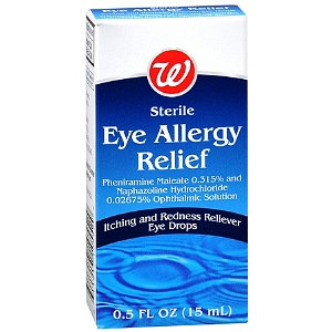 Walgreens Sterile Eye Allergy Relief Eye Drops