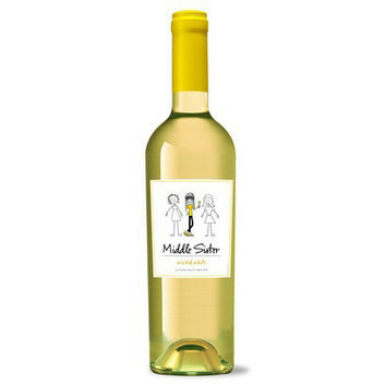 Middle Sister Wicked White Wine 750 ml