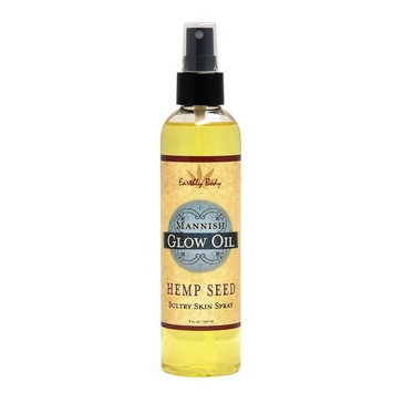 Earthly Body Glow Oil, Mannish, 8 Ounce