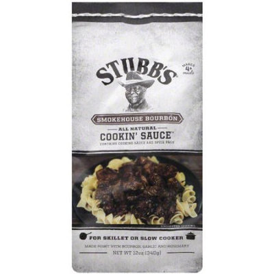 Stubb's Smokehouse Bourbon Cookin' Sauce, 12 oz, (Pack of 12)