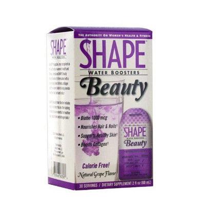 Shape Water Boosters Beauty Liquid, Grape, 2 fl oz