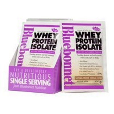 Whey Protein Isolate French Vanilla Bluebonnet 8 Packet
