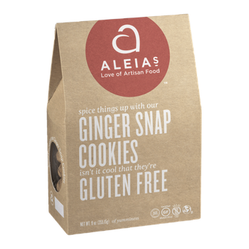 Aleia's Ginger Snap Cookies Gluten Free